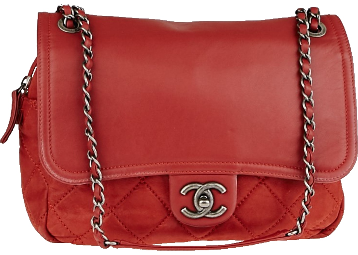 4a8aeafcba84ba Sell. or Ask. View All Bids. Chanel Flap In the Mix Quilted Iridescent Red