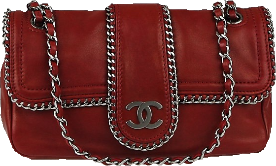 Chanel Flap Madison Chain medium Red