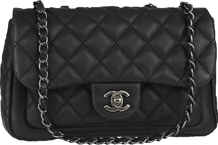 Chanel Flap Now and Forever Quilted Medium Black