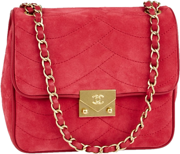 Chanel Flap Pagoda Quilted Small Red