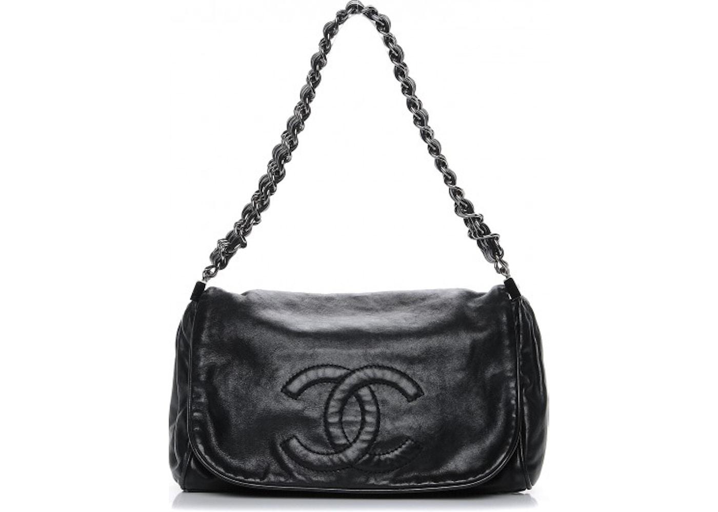 e93f09f4033b Chanel Rock And Chain Flap Small Black. Small Black