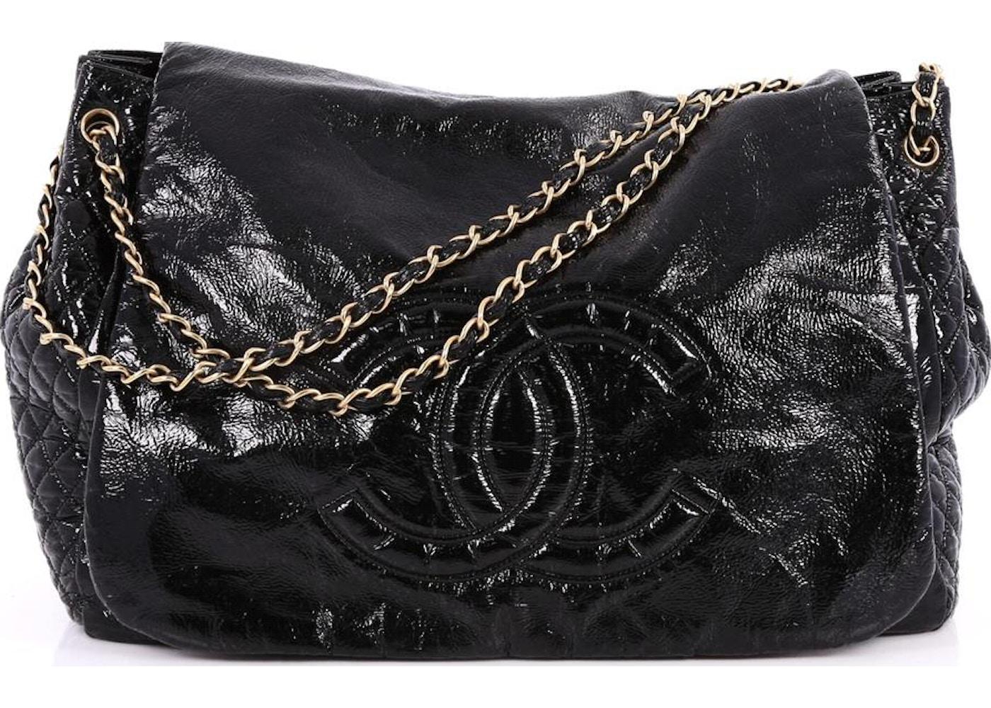 29de7d75af4e Chanel Rock And Chain Flap XL Black. XL Black