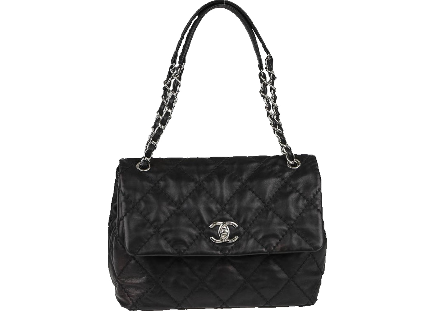 a6bd29045c22d0 Sell. or Ask. View All Bids. Chanel Flap Shoulder Bag Love me Tender Quilted  Medium Black