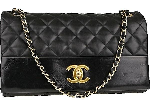 fde8d78d4b7e Chanel Flap Soft Elegance Quilted Jumbo Black