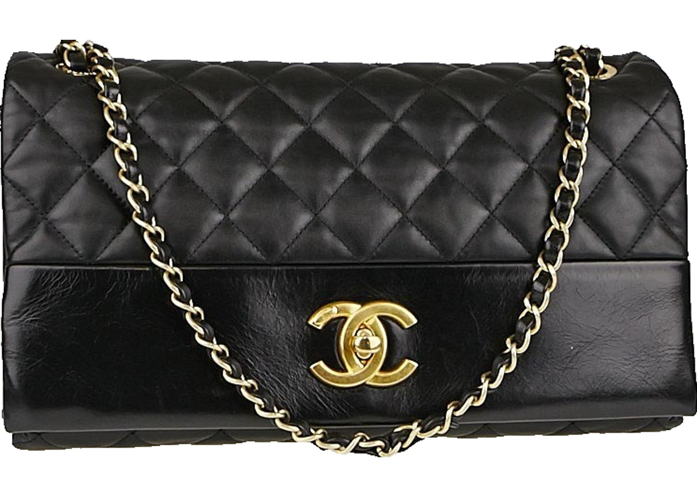 9cb5dbbc19cd Sell. or Ask. View All Bids. Chanel Flap Soft Elegance Quilted Jumbo Black