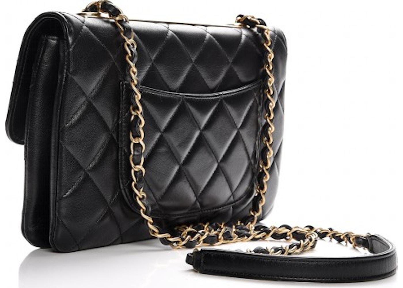 532ef1f0e81b Chanel Trendy CC Flap Diamond Quilted Medium Black