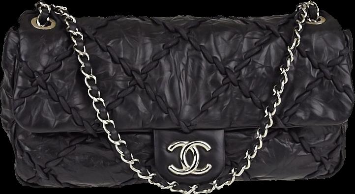 Chanel Flap Ultra Stitch Quilted medium Black