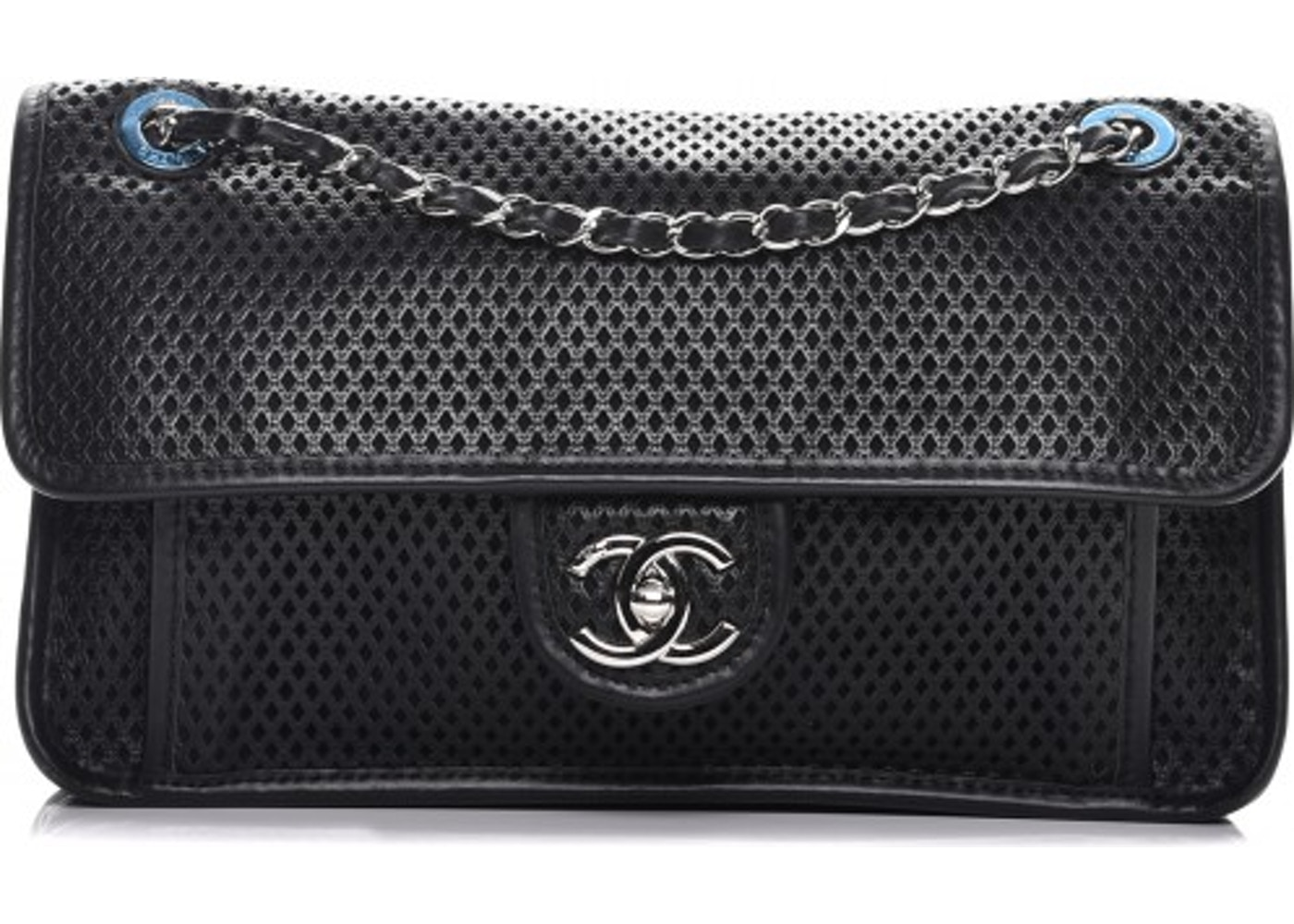 0796c2d733d0 Chanel Up In The Air Flap Perforated Large Black. Perforated Large Black