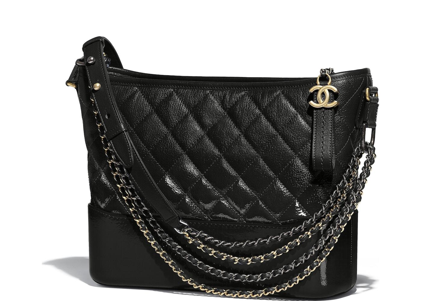 c52bb931be1eb0 Chanel Gabrielle Hobo Bag Black. Black