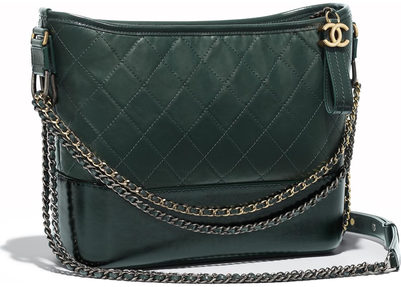 d608cc08657faa Chanel Gabrielle Hobo Bag Green. Green