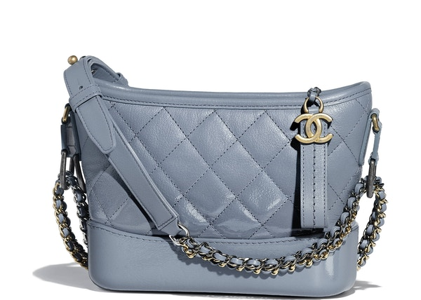 37144b92f4d2 Chanel Gabrielle Hobo Bag Small Blue