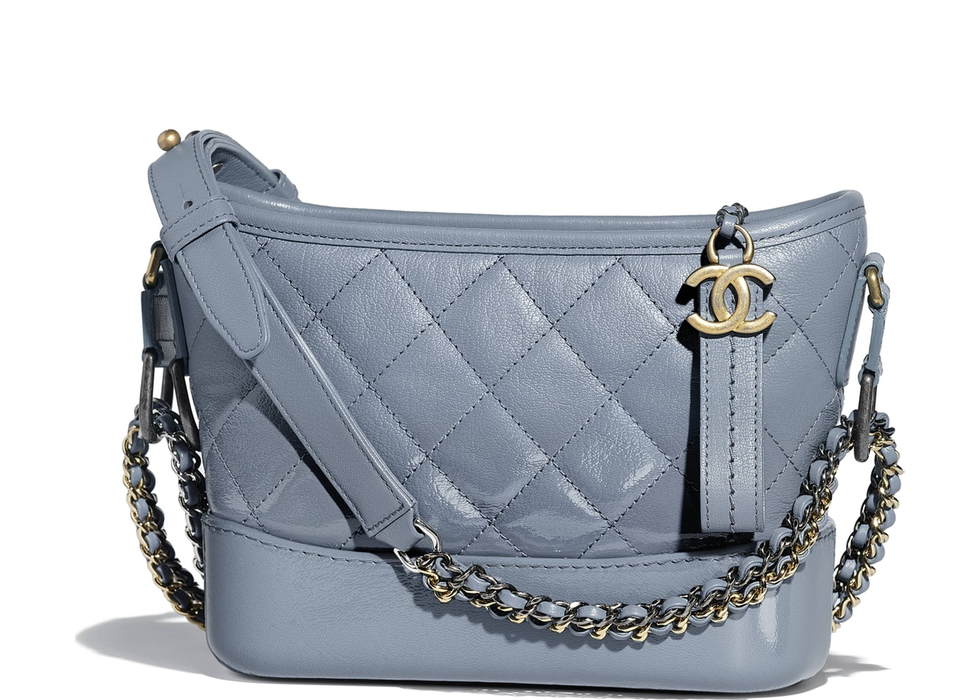 Chanel Gabrielle Hobo Bag Small Blue. Small Blue 6731590e55