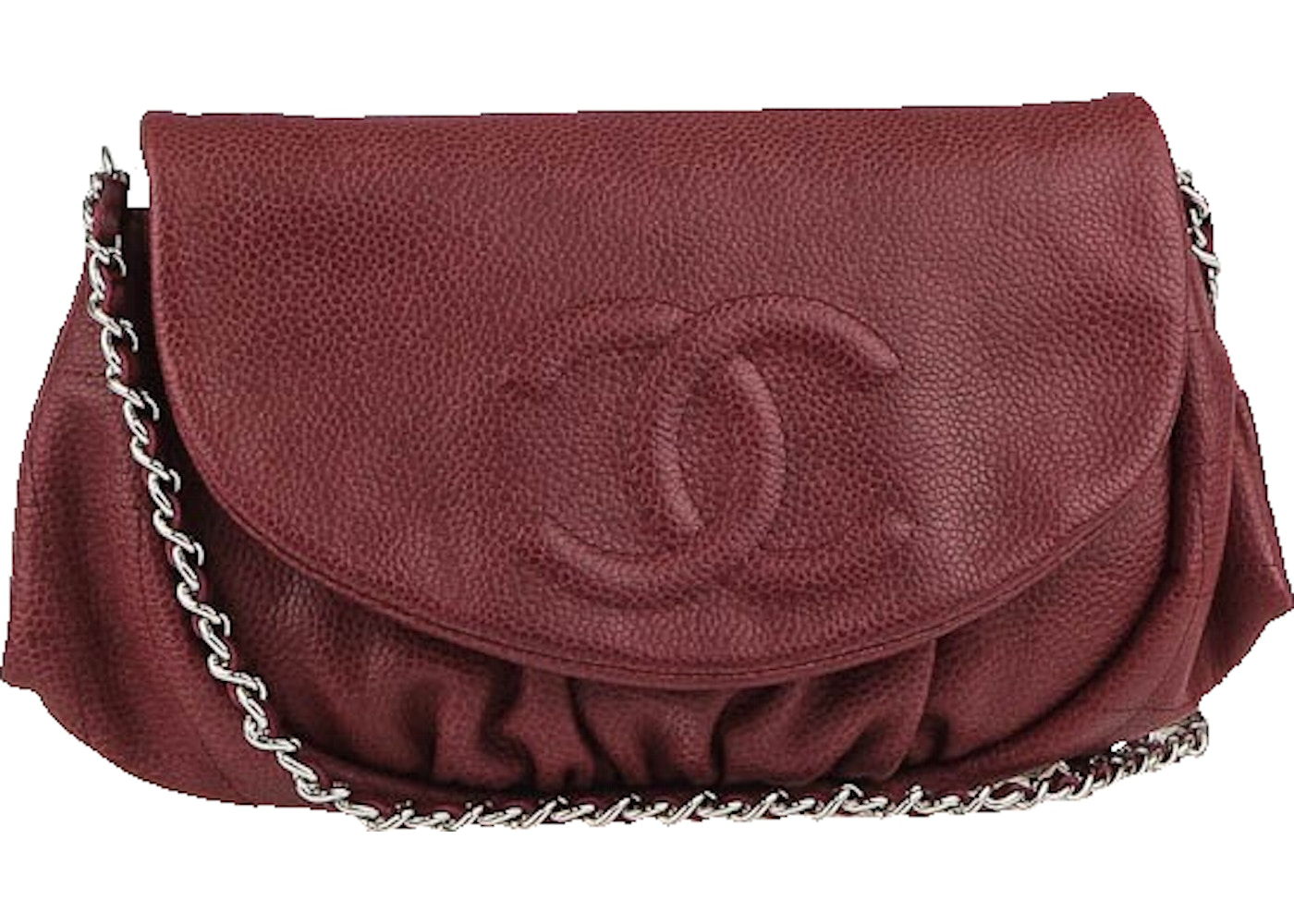 0304c10dc571 Sell. or Ask. View All Bids. Chanel Half Moon Wallet on Chain Bordeaux