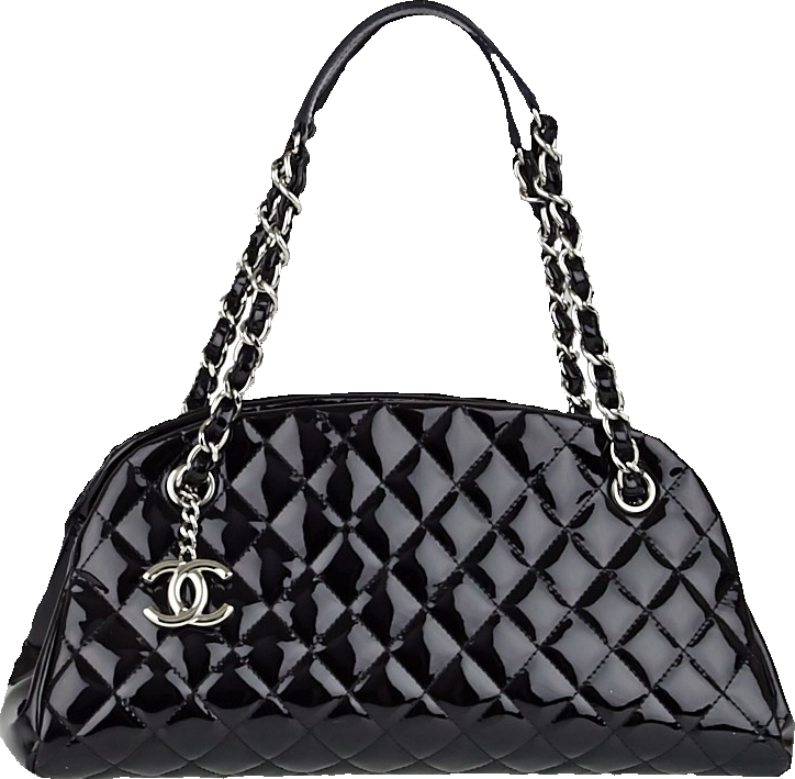 Chanel Just Mademoiselle Bowler Quilted Black
