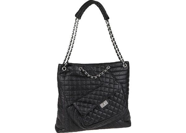 933e9053e5dc3a Chanel Karl'S Cabas Tote Quilted Aged Black