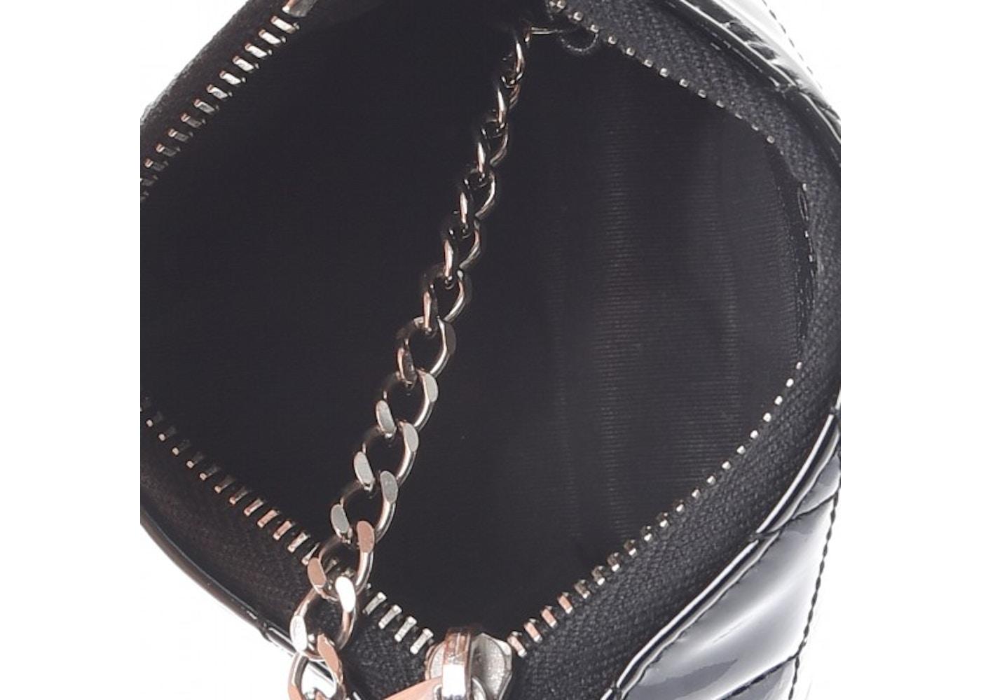 2812e6227551af Chanel Key Holder Case Quilted Diamond Black