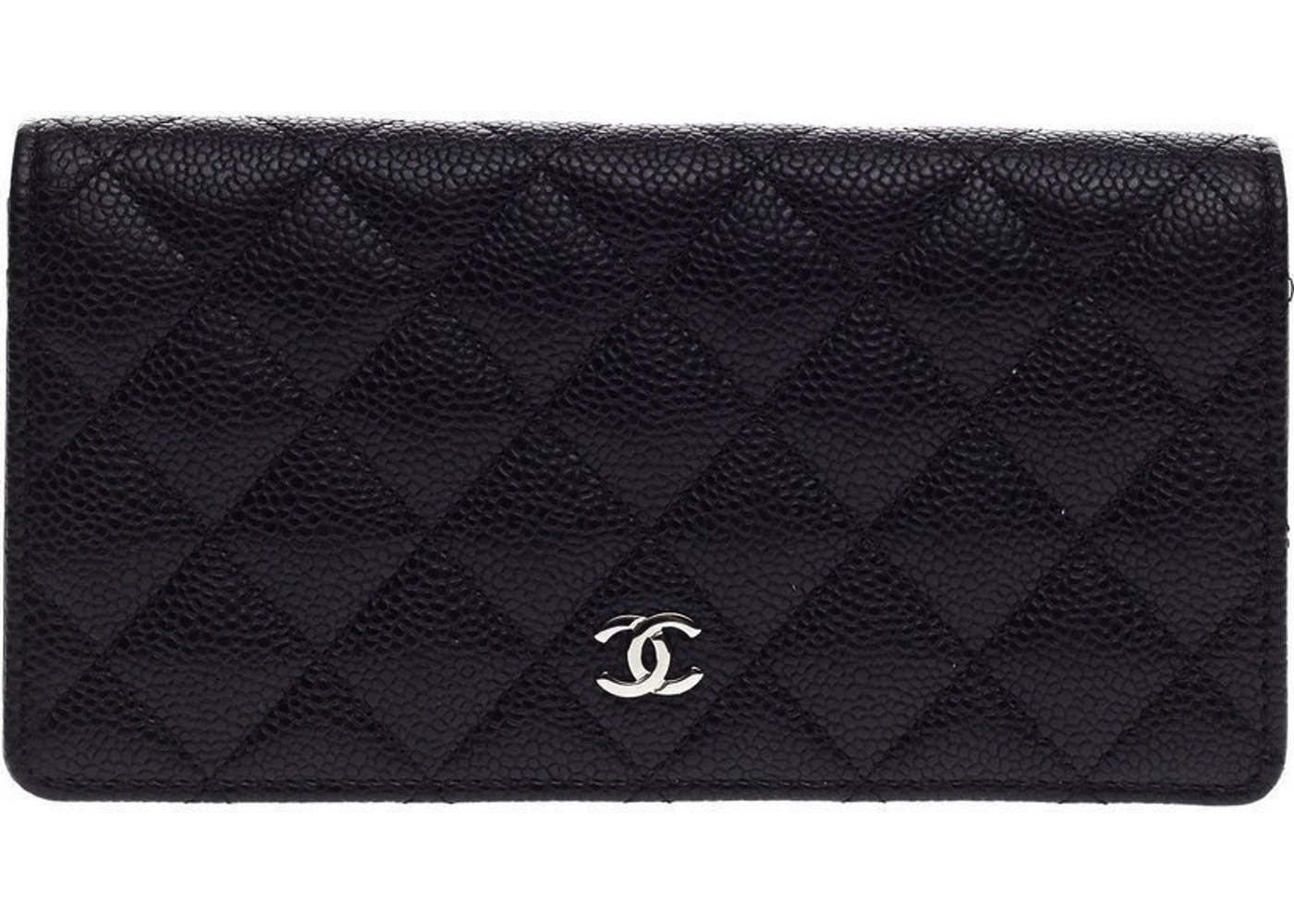 315f9ba7a67a0b Chanel L-Yen Wallet Quilted Black. Quilted Black