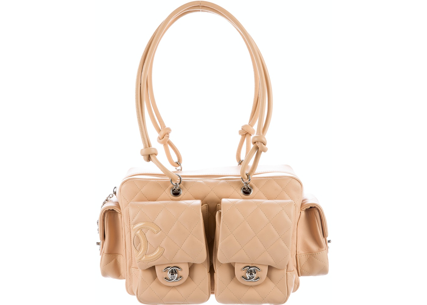 a245e3d2163218 Sell. or Ask. View All Bids. Chanel Ligne Cambon Reporter Bag Quilted Beige