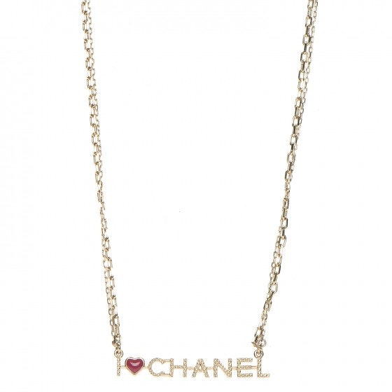 Chanel I Heart Chanel Necklace Chain
