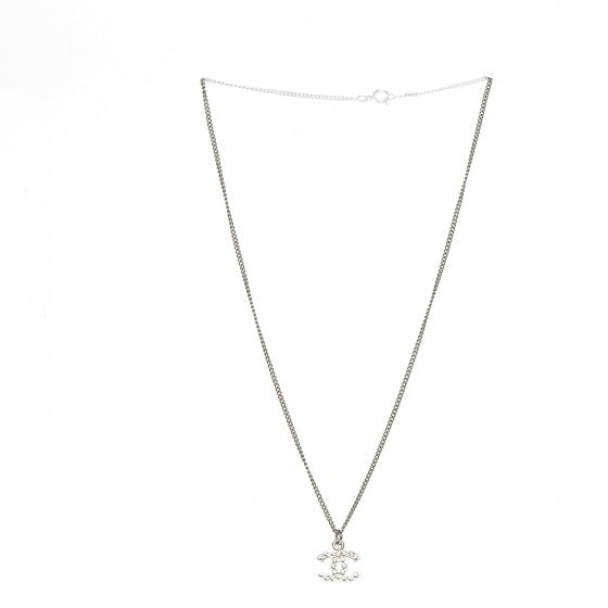 Chanel Timeless CC Necklace Crystal