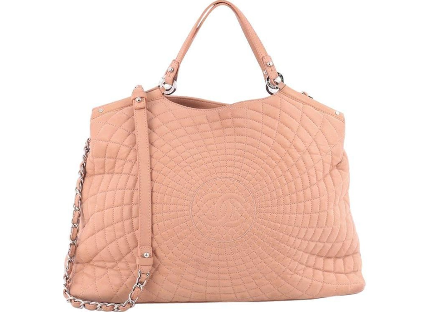 2cb2fd94f2d6 Sell. or Ask. View All Bids. North South Tote Sea Hit Quilted Iridescent  Pink