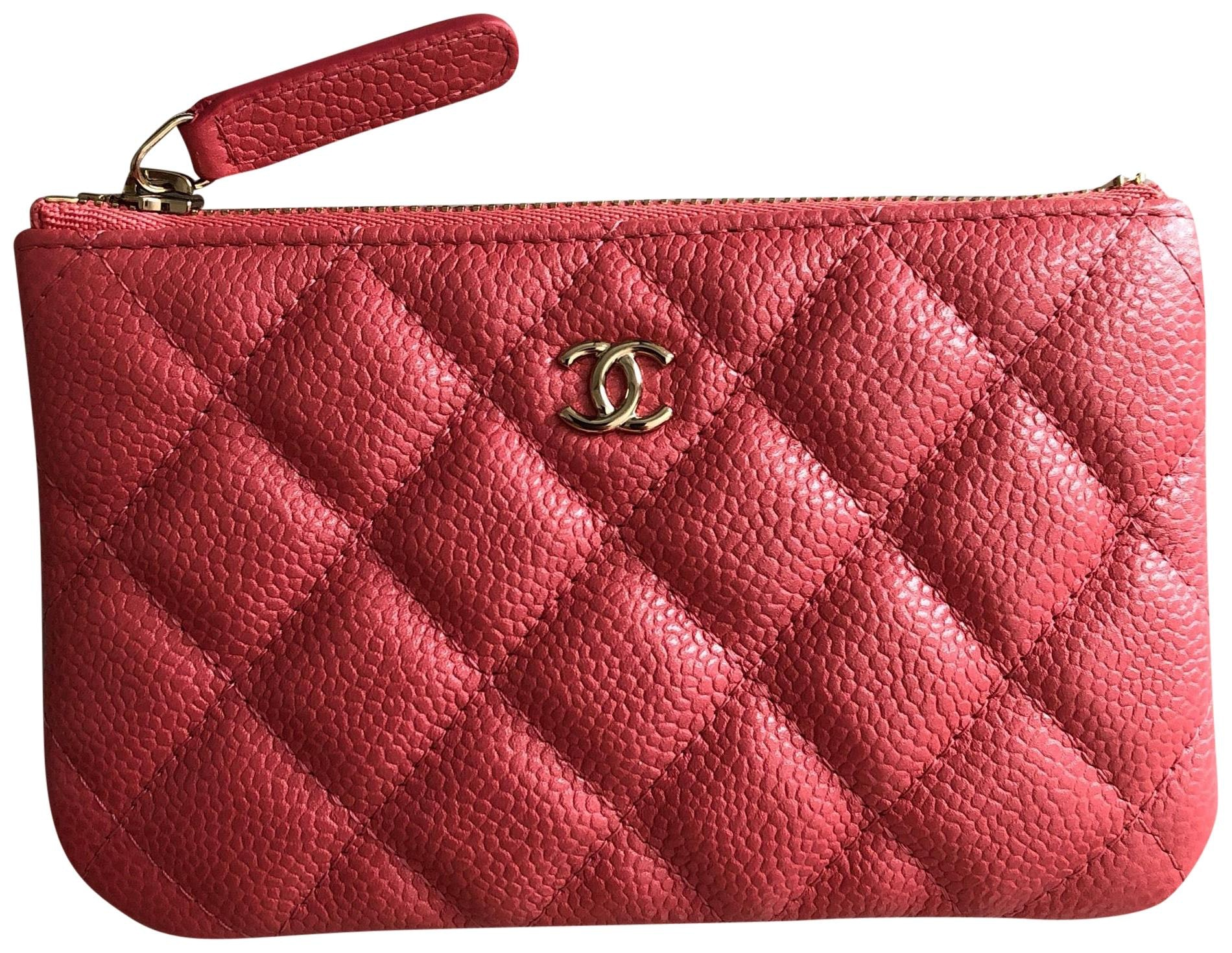 Chanel O Case Iridescent Pink
