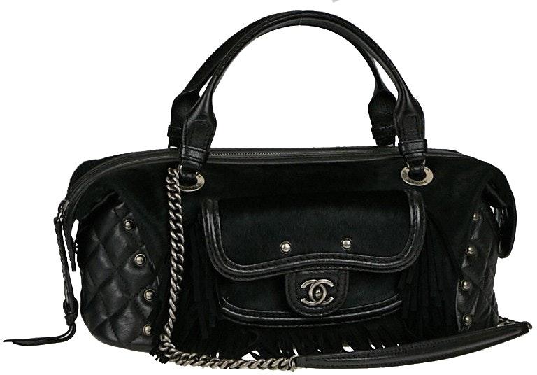 Chanel Paris-Dallas Bowler Quilted