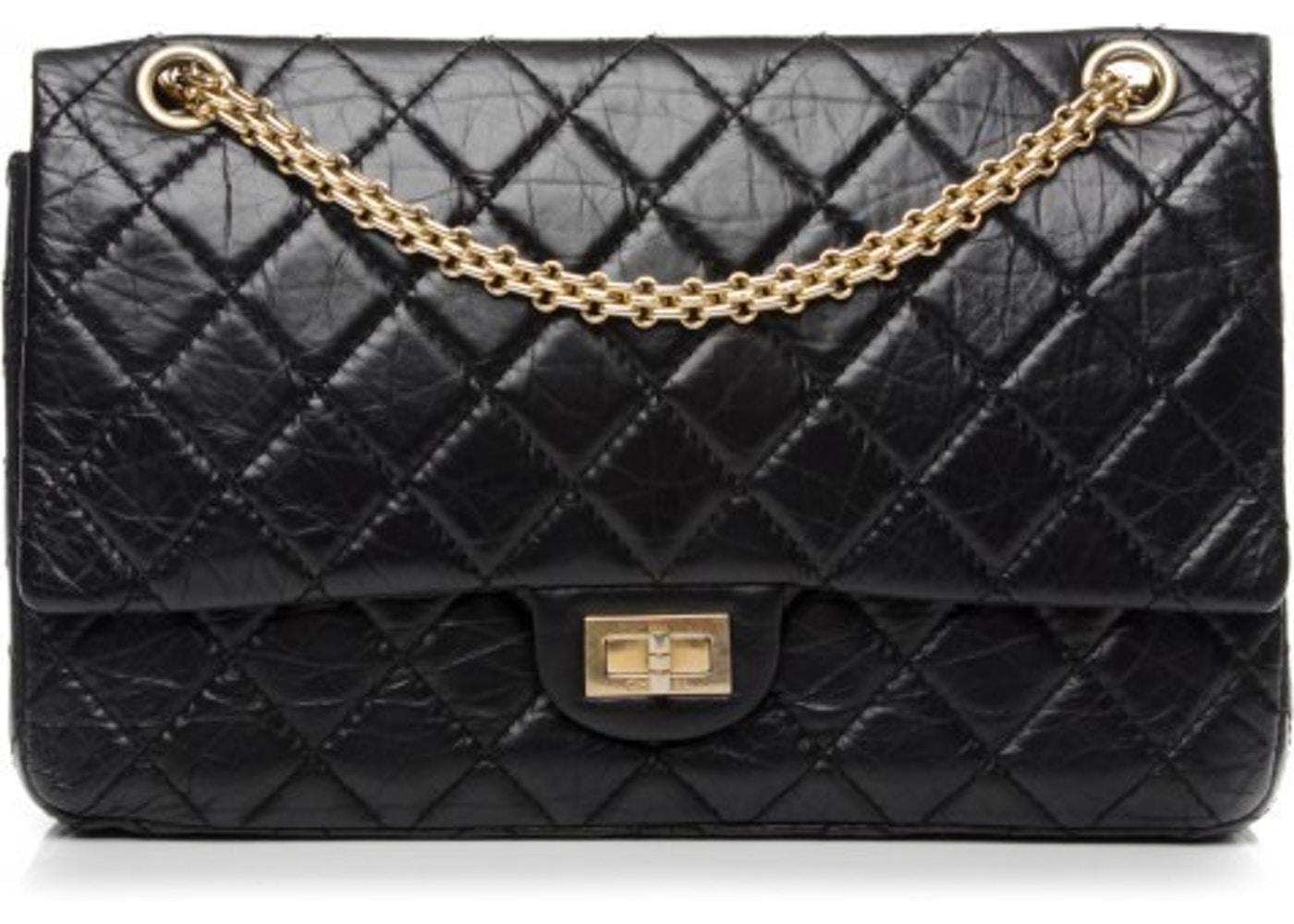 27f3f5a0f8d8b4 Sell. or Ask. View All Bids. Chanel Reissue 2.55 Classic Double Flap Quilted  Aged 226 Black