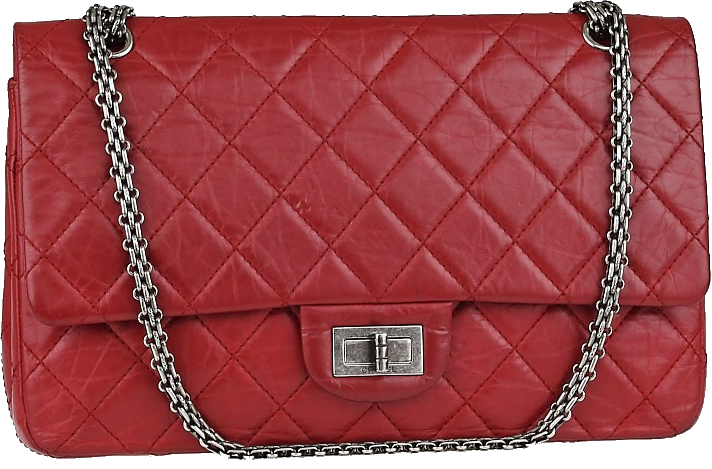Chanel Reissue 2.55 Classic Double Flap Quilted Aged 227 Red