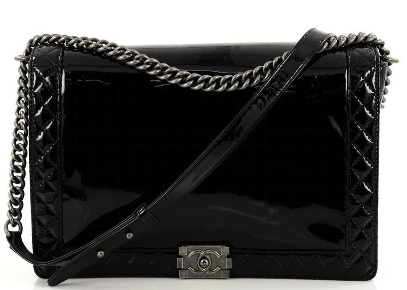 35d8702d925c Chanel Reverso Boy Flap Large Black. Large Black