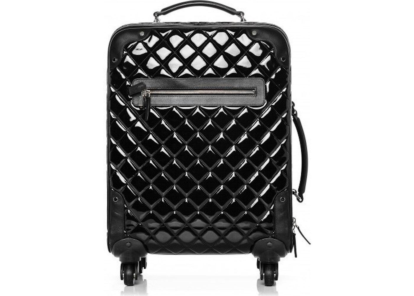 9b8394c02941 Chanel Luggage Rolling Trolley Diamond Quilted Black. Diamond Quilted Black