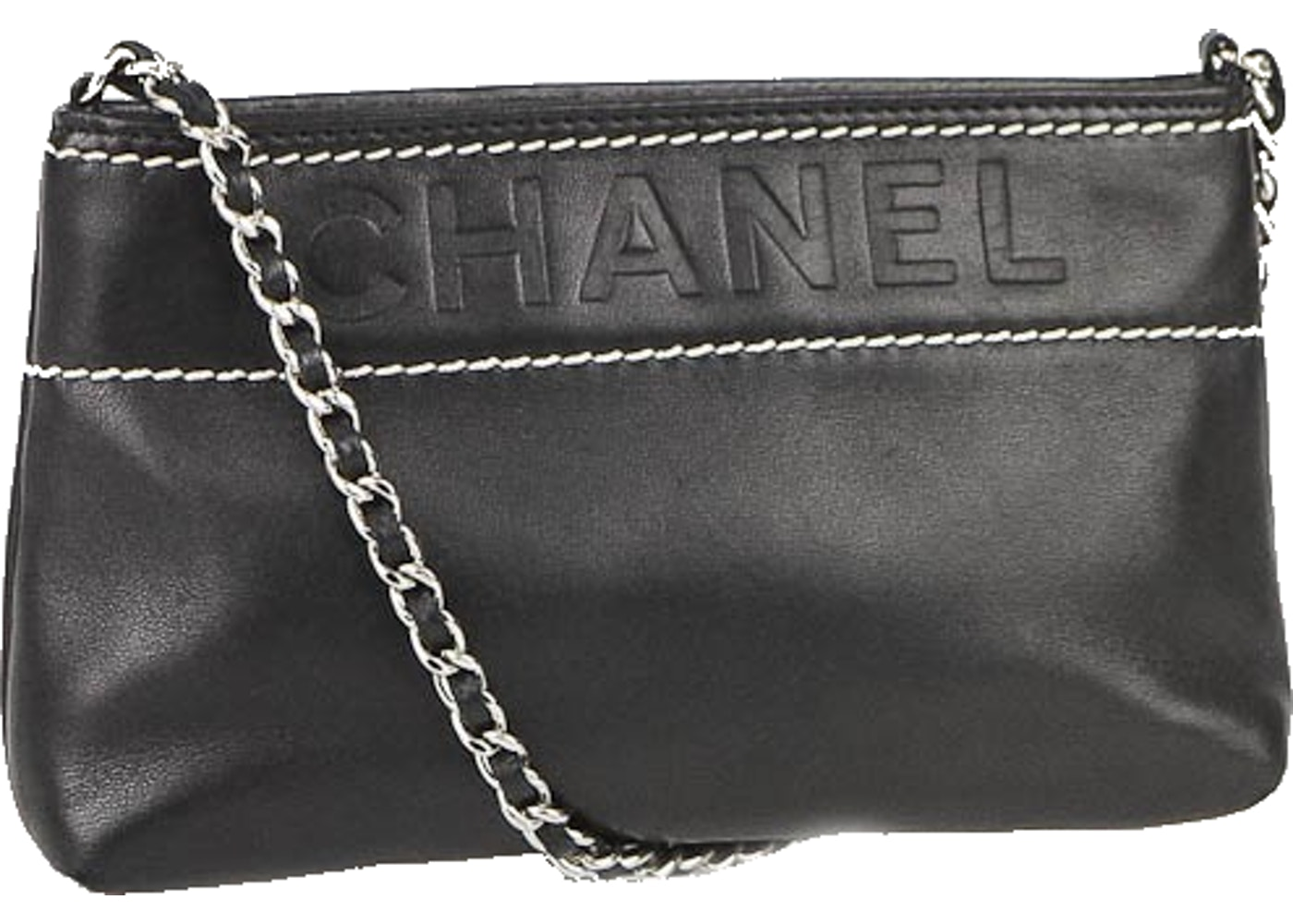 7adc2612fa Chanel Sac Pochette Black