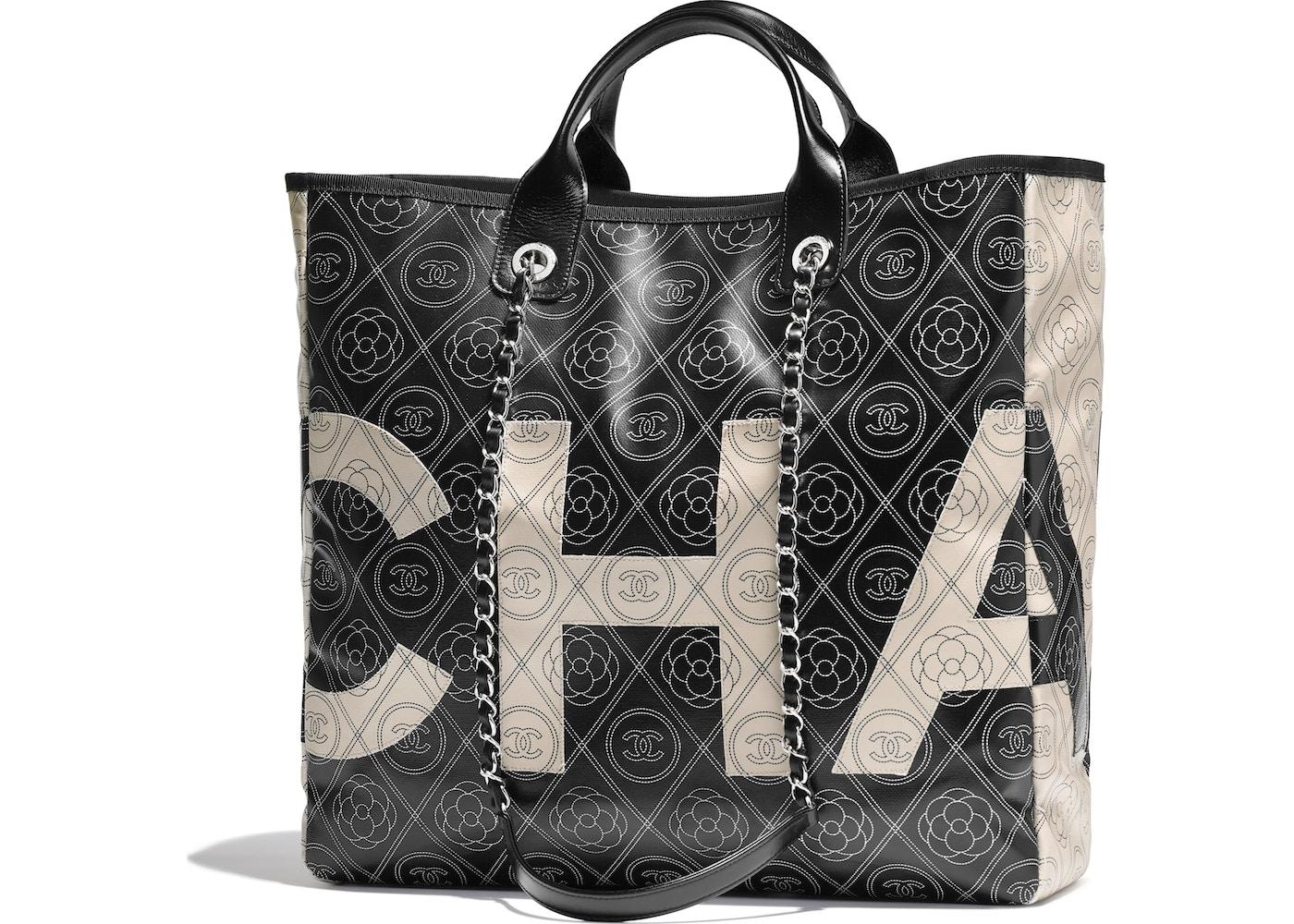 1812a69a15ee Chanel Shopping Bag Large Black/Beige. Large Black/Beige