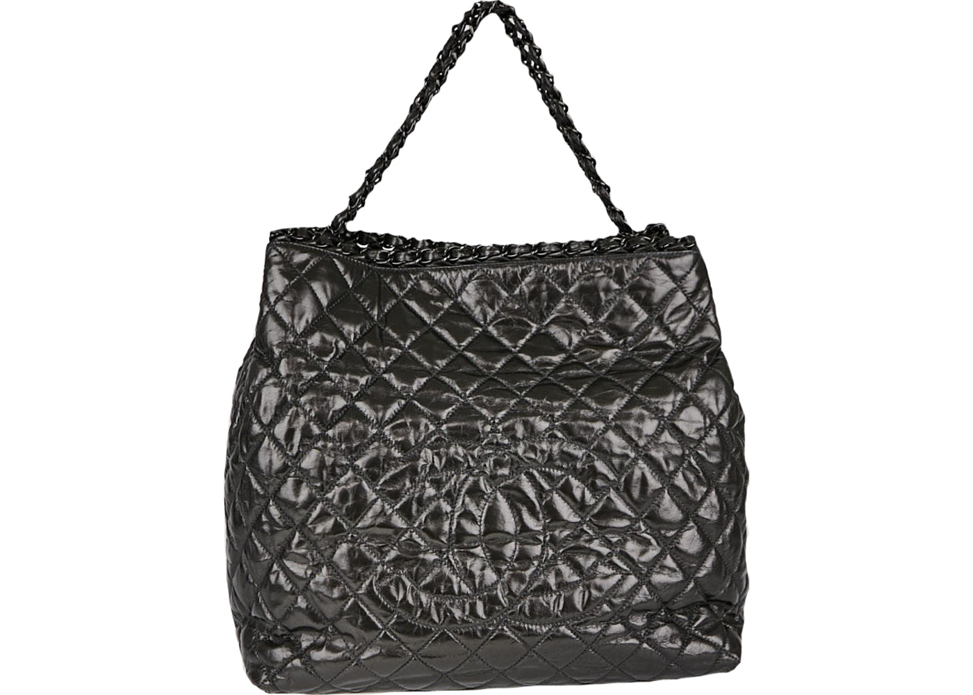 3a19c4defae2 Sell. or Ask. View All Bids. Chanel Shopping Tote Chain me Quilted XL Black