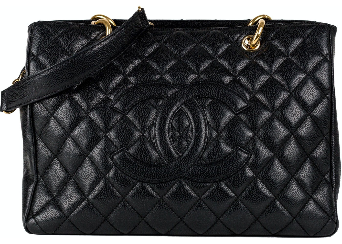 39ac6d248b Chanel Grand Shopping Tote Quilted Black