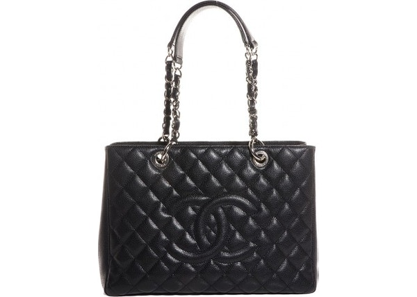97c984fb7a063 Chanel Shopping Tote Quilted Grand Black. Chanel Shopping Tote Quilted  Grand Black. lowest ask.  2