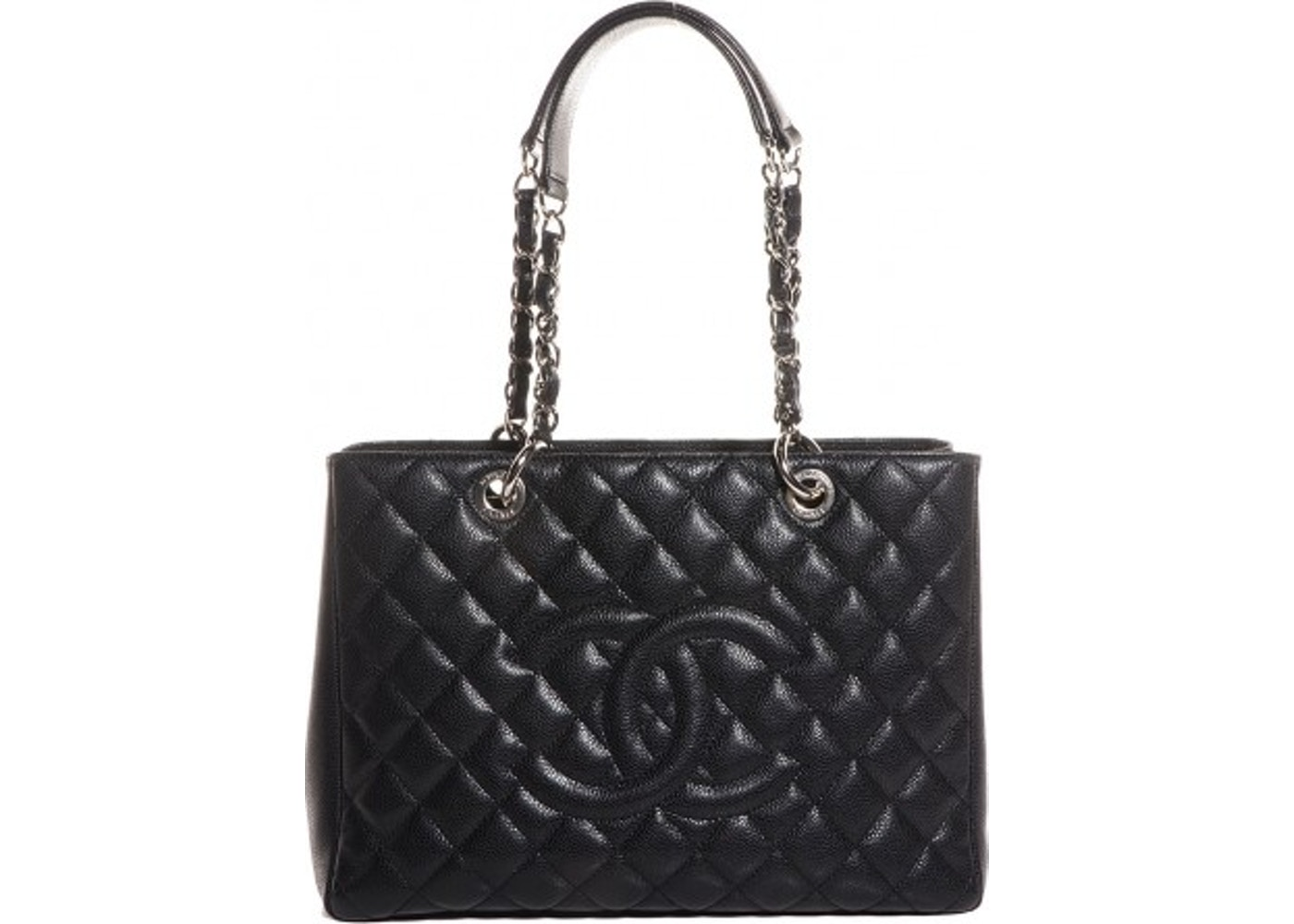 88e623b0e153 Chanel Shopping Tote Quilted Grand Black. Quilted Grand Black