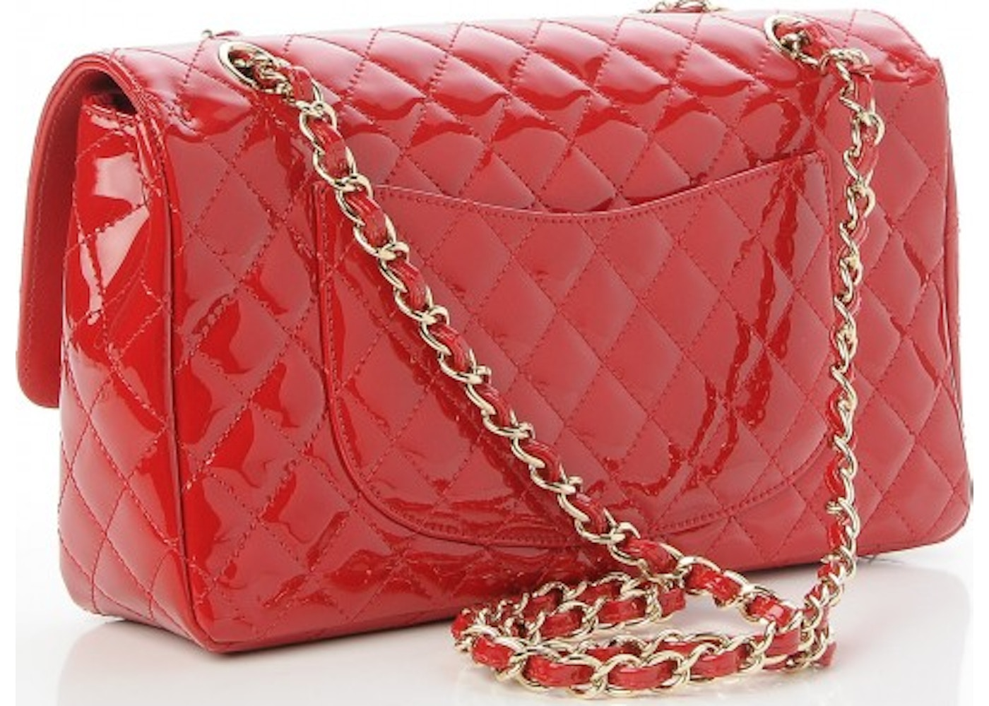 f8a97f48e53442 Sell. or Ask. View All Bids. Chanel Single Flap Quilted Diamond Valentine  Charms Medium Red