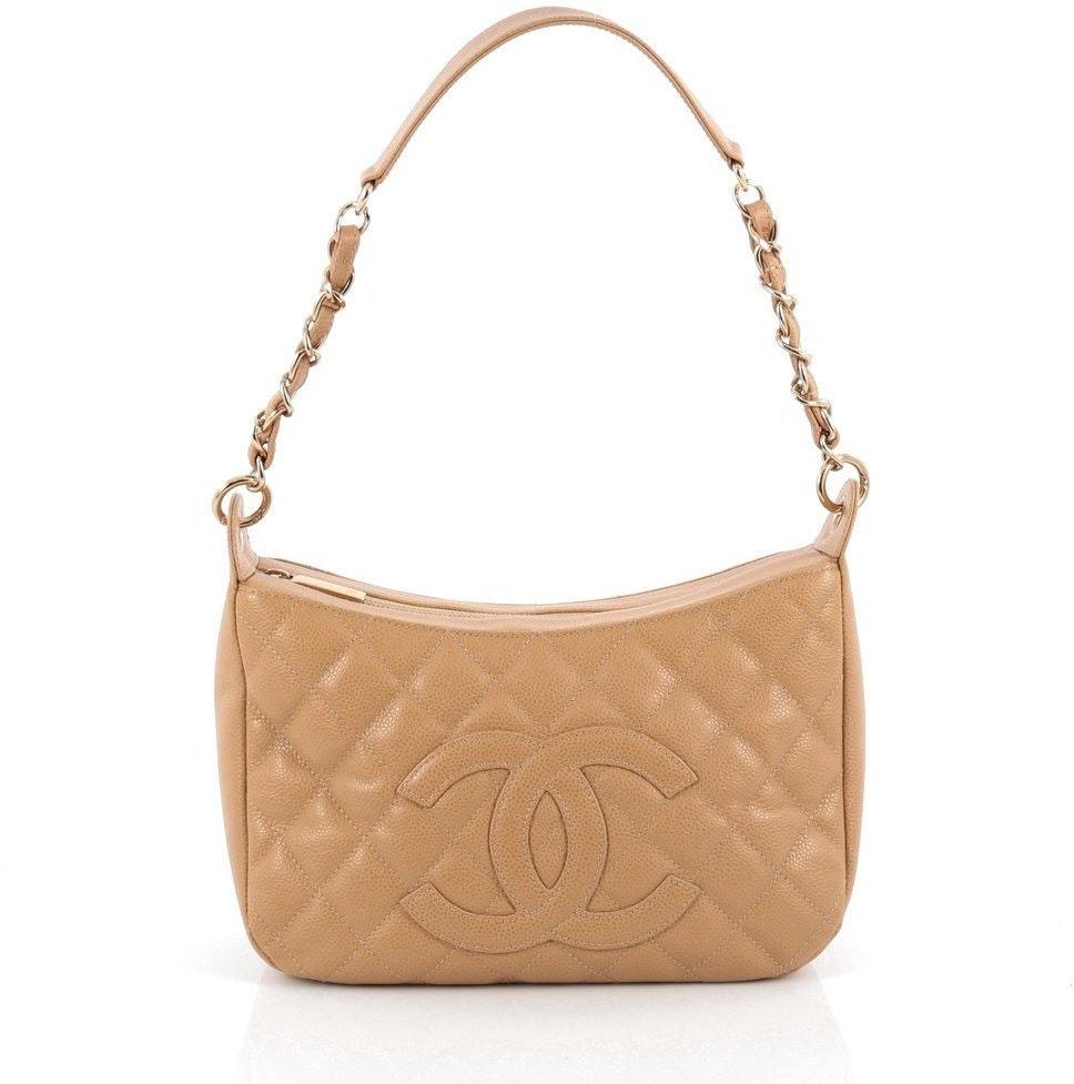 Chanel Timeless CC Shoulder Medium Camel