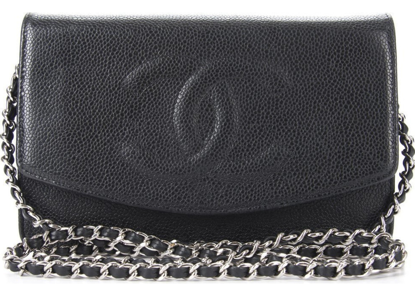 5a75e742279b Sell. or Ask. View All Bids. Chanel Timeless CC Wallet On Chain Black
