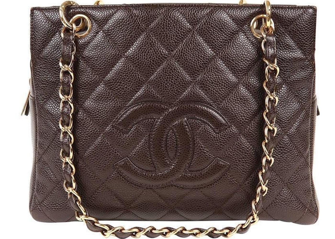 e1020fa0cf45 Sell. or Ask. View All Bids. Chanel Timeless Shopping Tote Quilted Petite  brown