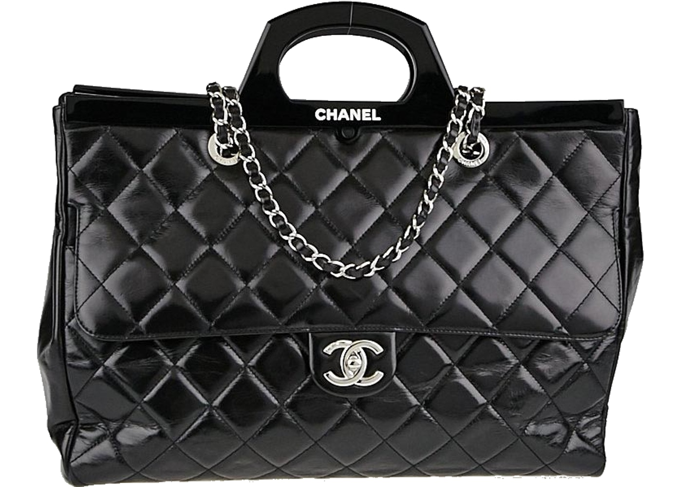 fcda9afb7f3e Sell. or Ask. View All Bids. Chanel Tote CC Delivery ...