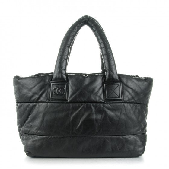 Chanel Tote Coco Cocoon      Large Black