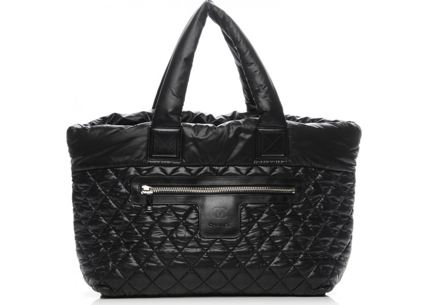 fc753b029ebb Chanel Coco Cocoon Tote Quilted Diamond Large Black. Quilted Diamond Large  Black