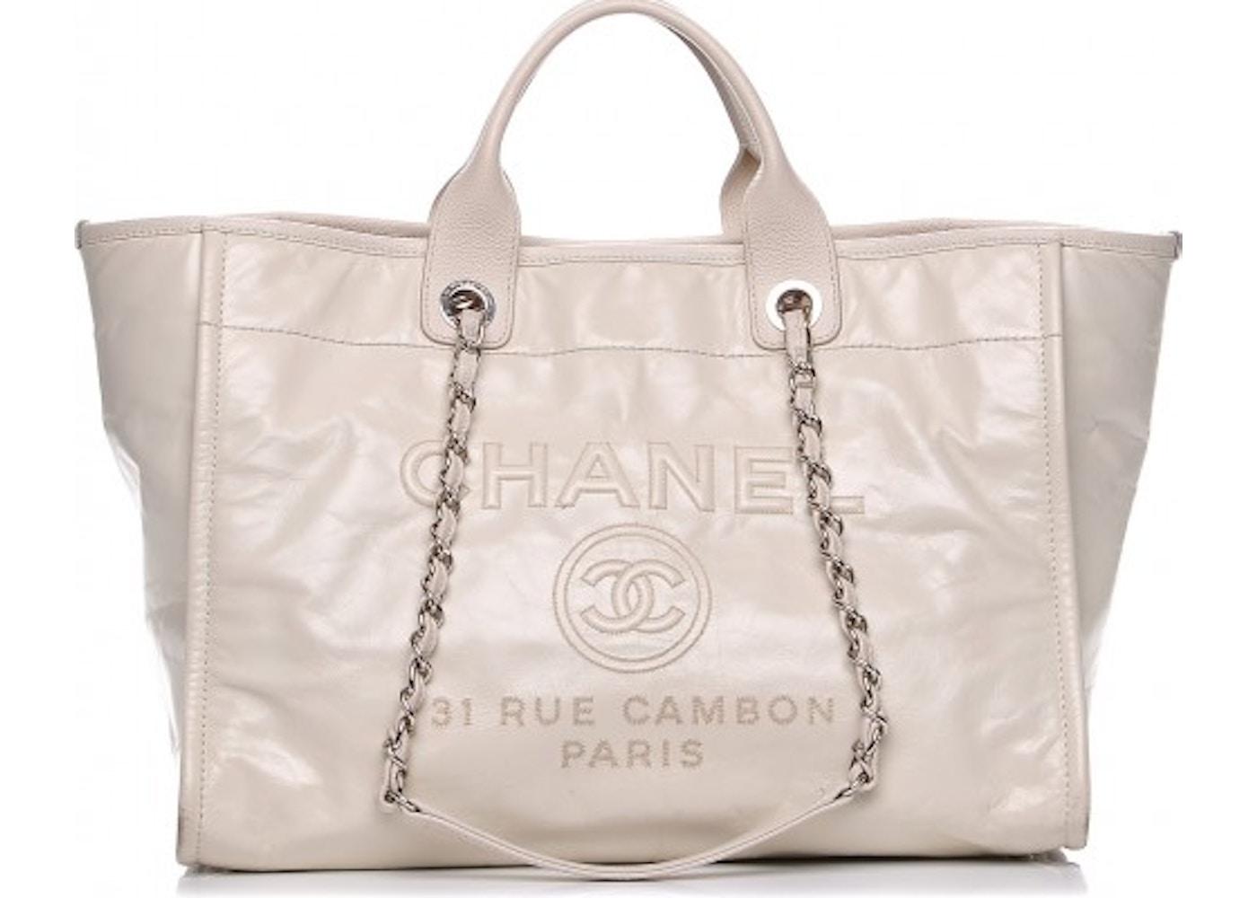 582c7d7a6e5f Chanel Deauville Tote Deauville Glazed Large. Deauville Glazed Large
