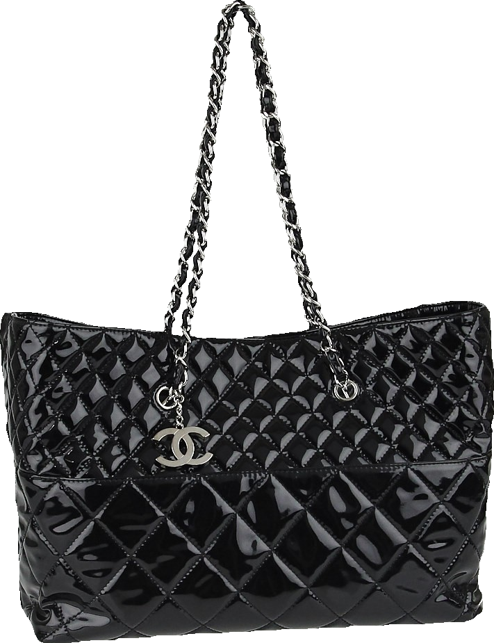 Chanel Tote In the Business Quilted Large Black