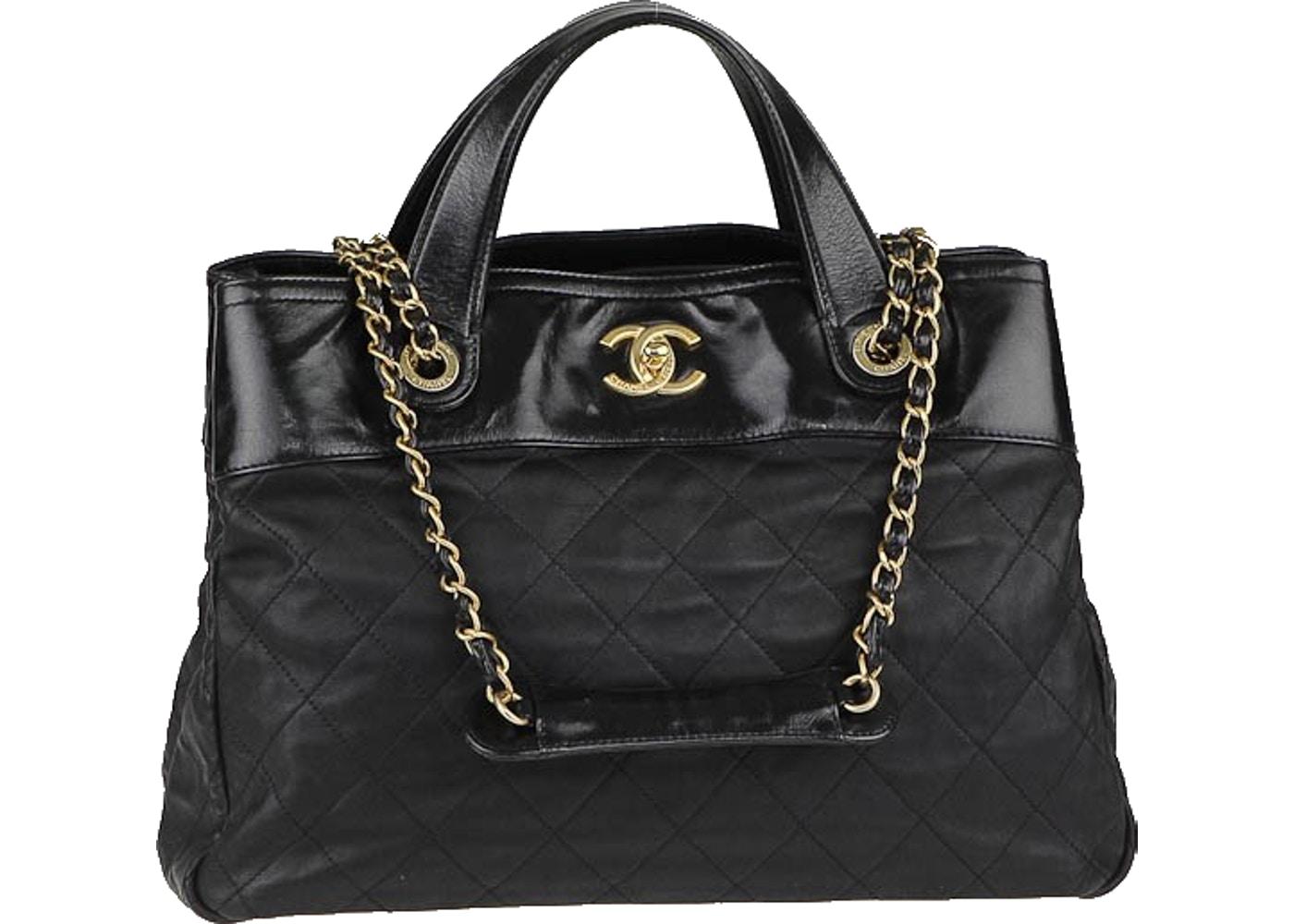 53847157248452 Sell. or Ask. View All Bids. Chanel Tote In the Mix Quilted Small Black