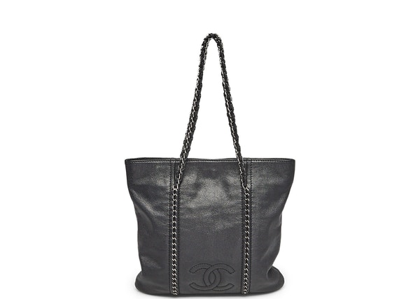 540943fce563 Chanel Tote Luxe Ligne Small Black