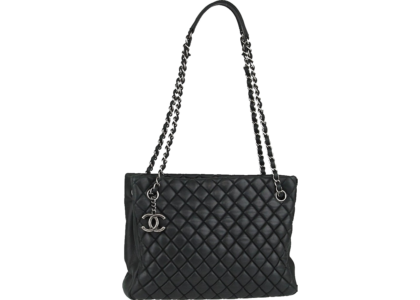 f3426726218 Sell. or Ask. View All Bids. Chanel Tote New bubble Quilted Iridescent  Small Black