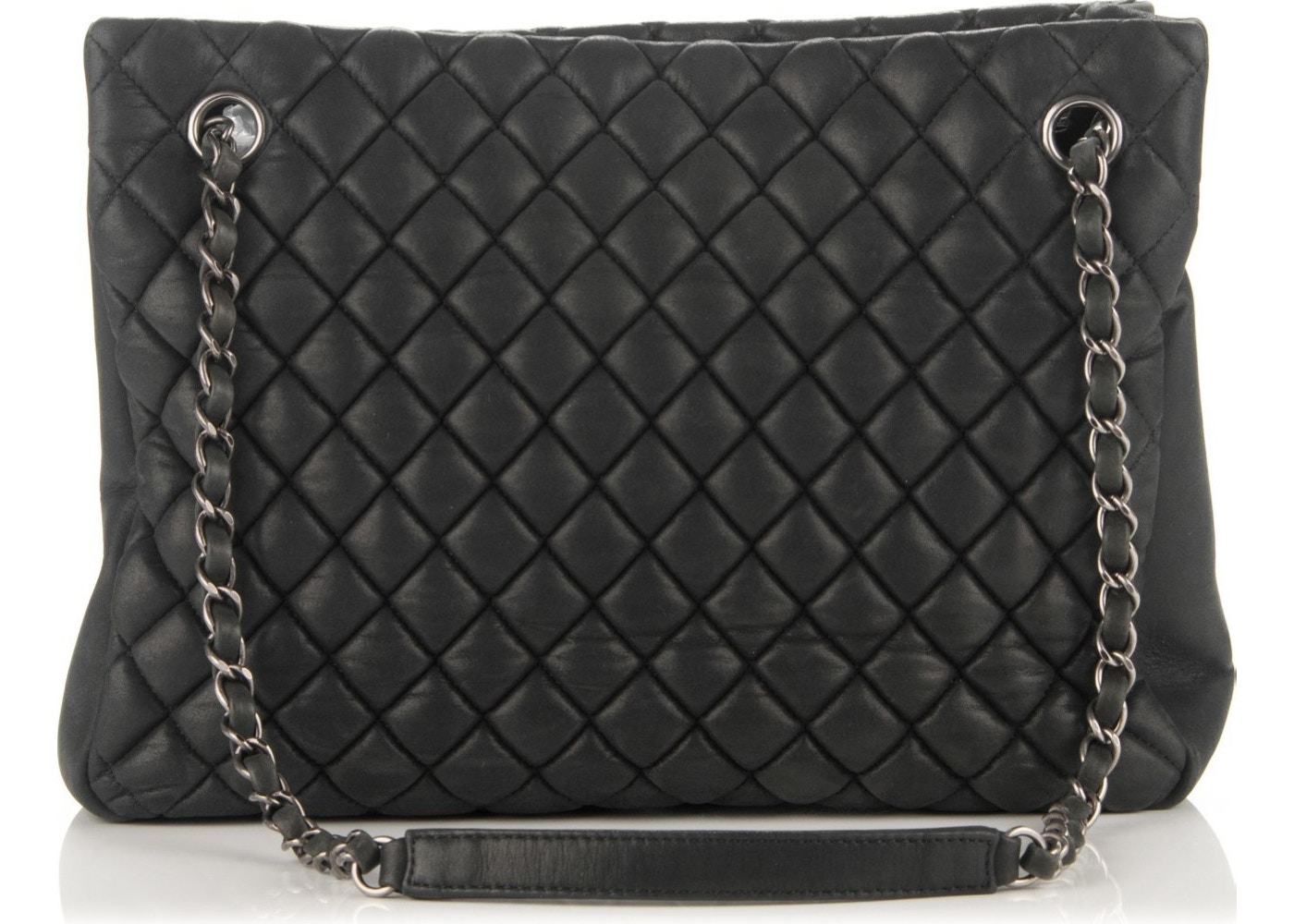4d83034c073 Sell. or Ask. View All Bids. Chanel Tote New bubble Quilted Iridescent  Small Dark Gray